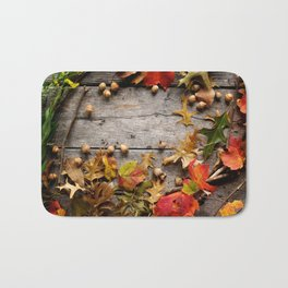 Autumn Artifacts  Bath Mat