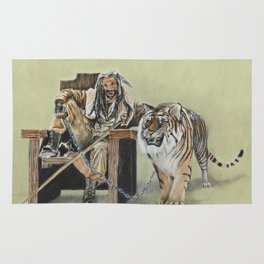 King Ezekiel and Shiva Rug