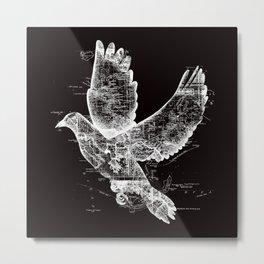 Wanderlust White Metal Print