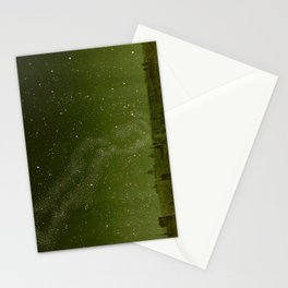 The sky and horizon above Paris Illustration from Le ciel; notions élémentaires d'astronomie physi Stationery Cards