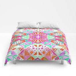 Mosaic Pinks Comforters