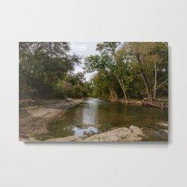 Brushy Creek Bed Metal Print
