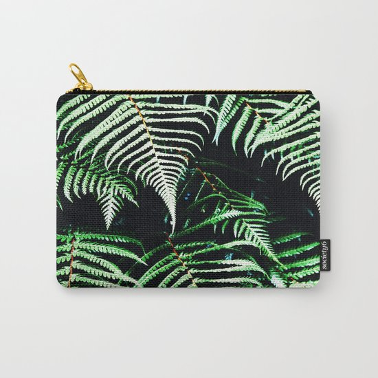 Entranced Ferns #society6 #prints #decor #home Carry-All Pouch
