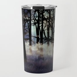 Halloween forest Travel Mug