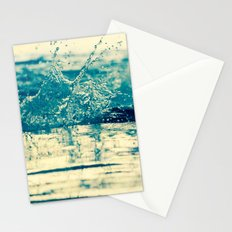 Water in Motion Stationery Cards
