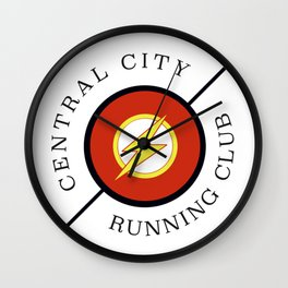 Central City running club Wall Clock