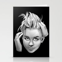 miley cyrus Stationery Cards featuring Miley Cyrus by anomaly alice