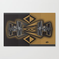 Golden Fighters Canvas Print