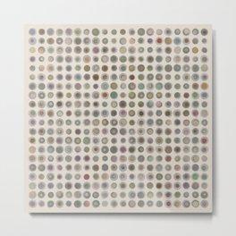 circles 01 Metal Print
