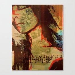 me, myself, and I Canvas Print