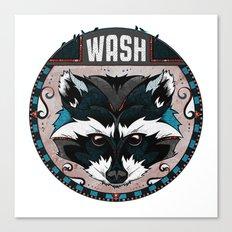 Wash Canvas Print