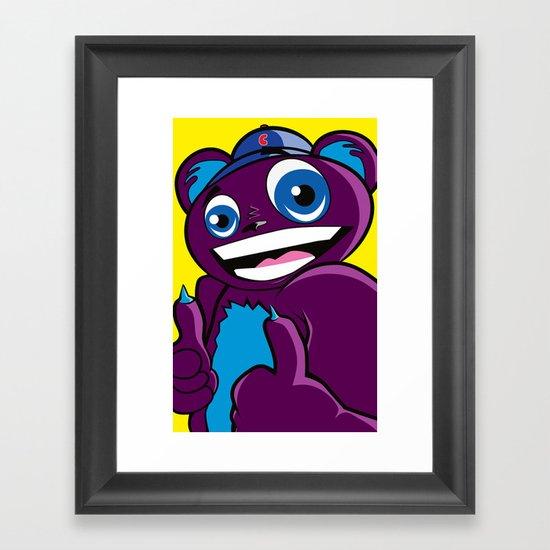 Rad Bear  Framed Art Print