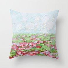 September Fields No. 2 Throw Pillow
