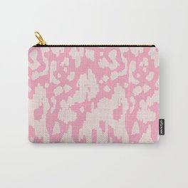 Modern Abstract Ikat Pink P  #homedecor Carry-All Pouch