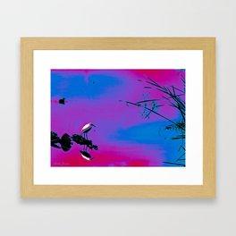 UNNATURALLY  NATURAL Framed Art Print
