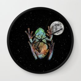 Hitchhiker Wall Clock