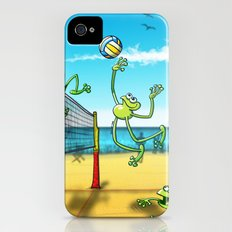 Olympic Volleyball Frog iPhone (4, 4s) Slim Case