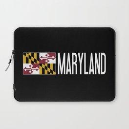 Maryland: Marylander Flag & Maryland Laptop Sleeve
