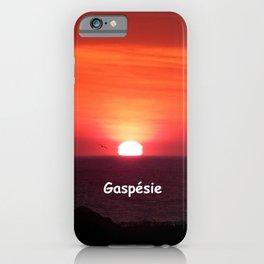 Sunrise in Gaspésie iPhone Case