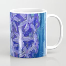 Hyacinths, blue and violet Coffee Mug