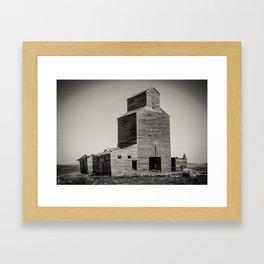 Elevator, Suffolk Montana Framed Art Print