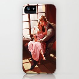 Emma et Leon iPhone Case