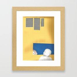 Oedipe Framed Art Print