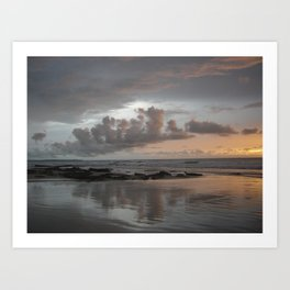 Reflection of Clouds Art Print