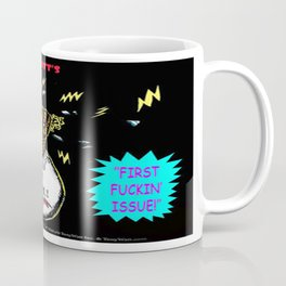 Bird of Steel Comix Cover - Society 6 UNDERGROUND POP ART SERIES  Coffee Mug