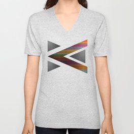 """""""Architecture, Colorful Rainbow"""" by Mar Cantón Unisex V-Neck"""
