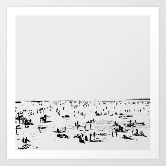 Beach Day by danhobdayart