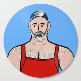Beard Boy: Willis Cutting Board