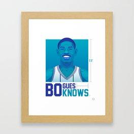 Bogues Knows Framed Art Print
