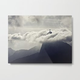 Cristo Redentor Metal Print