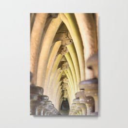 Abbey arches Metal Print