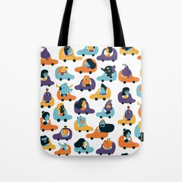 Little cars Tote Bag