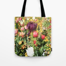 Flower Schadows Tote Bag