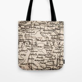 Let's Go Get Lost in the USA Tote Bag