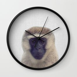 Monkey - Colorful Wall Clock