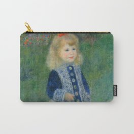 Auguste Renoir A Girl with a Watering Can 1876 Painting Carry-All Pouch
