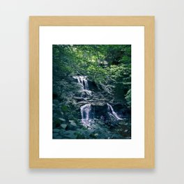 Waterfall Fantasy Framed Art Print