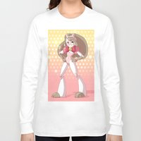 bee and puppycat Long Sleeve T-shirts featuring Bee costume redesign by Parapoozle
