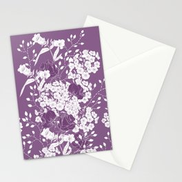 Roses in love Stationery Cards