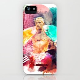 Conor McGregor Abstract Art Print iPhone Case
