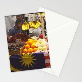 Fruit Stand, Kuala Lumpur Stationery Cards