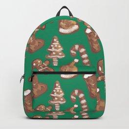 Ginger Biscuit Green Backpack