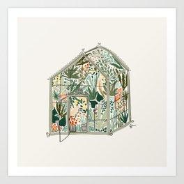 Little Greenhouse Art Print