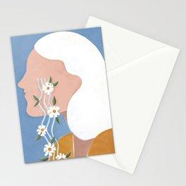 Fierce tears Stationery Cards