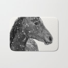 Horse Animal Photography Bath Mat