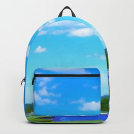 Summer on the Essex River Backpack